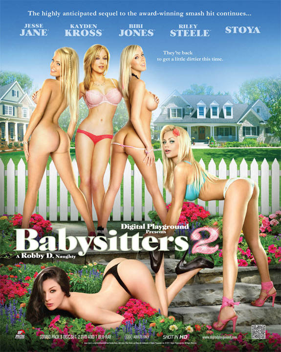 "DVD Review: Digital Playground's ""Babysitters 2"""