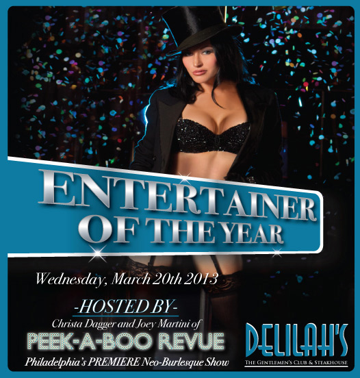 Delilah's Entertainer Of The Year 2013